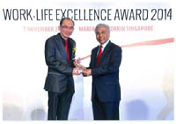 Work-Life Achiever Award